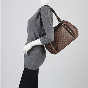 Rivington GM Brown Damier Ebene Shoulder Bag